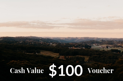 Mount Lofty House $100 Cash Value