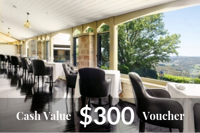 Mount Lofty House $300 Cash Value
